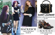 Blackpink Fashion, Women's Fashion Dresses, Korean Fashion, Womens Fashion, Kpop Outfits, Dress Outfits, Kpop Mode, Heeled Loafers, Cool Style