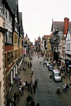 Chester, England , have such fond memories visiting Chester many times. England And Scotland, England Uk, London England, The Places Youll Go, Cool Places To Visit, Places To Travel, Lake District, Great Britain, Wonders Of The World