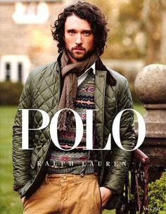 Polo Ralph Lauren Fall 2012 Catalog (Polo Ralph Lauren) Model Patrick Sullivan