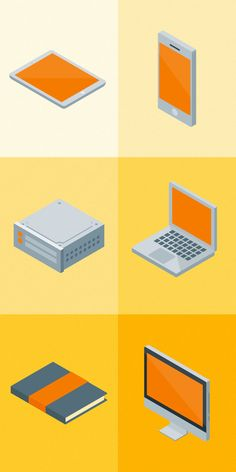 Free set of isometric material icons | by Dimitrios Pantazis