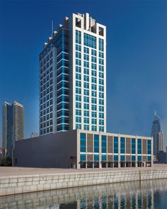 Office Building Architecture, Office Buildings, Facade Architecture, Skyscraper, Dubai, Multi Story Building, Commercial, Tower, Lily Collins