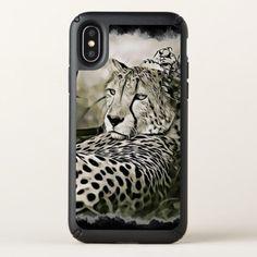 #Cheetah  Digital Art Cell Phone Case - #cute #gifts #cool #giftideas #custom