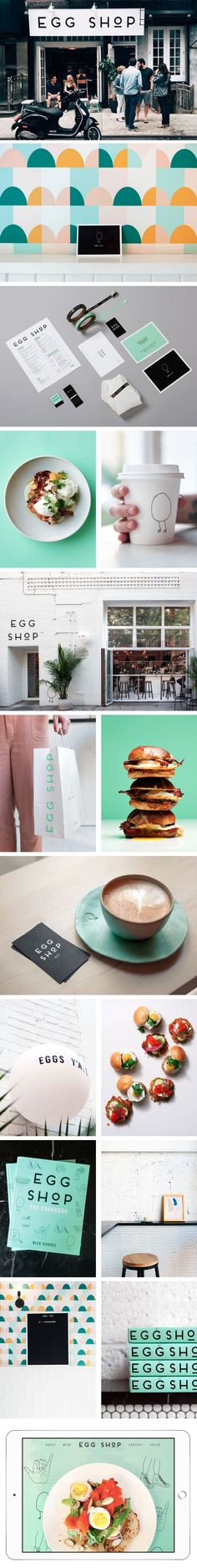Egg Shop Branding by LMNOP