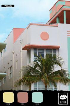 Wo sind sie hin, die guten alten Zeiten?  Der Retro Lifestyle holt diese Gefühle wieder zu dir nachhause. Retro, House Colors, Neon Signs, Mansions, Lifestyle, House Styles, Home Decor, Homes, Ideas