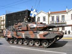 greek military | Army Greece Leopard 2A6 HEL main battle tank picture Hellenic Army ...