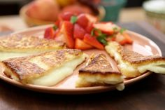 My father taught to cook three things: meat on the fire, beer fritters and Mozzarella in Carrozza. You could say this is the Italian version of the grilled cheese, and it truly is a great recipe to put to work for a kids party or used as an adult appetizer.