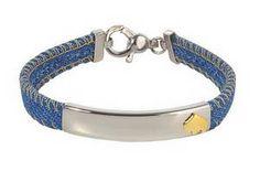 (#303) 7in Denim Bracelet