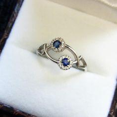 #14k #gold #diamond #sapphire #ring #diamonds #goldenring #whitegold #diamondring #золото #кольцо #бриллиант #сапфир #золотоекольцо #кольцосбриллиантом #ювелирныеизделия #750gold