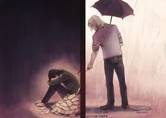 Letters, by WestIsHere (via http://westishere.tumblr.com/post/28346511721 Fan Art ~ *Sniff* This just made me cry! The FEELS ARE BACK! :'(