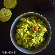 Min bedste opskrift på guacamole --> madbanditten.dk Lchf, Keto, Edamame, Tapas, Diabetes, Meal Prep, Low Carb, Mexican, Snacks
