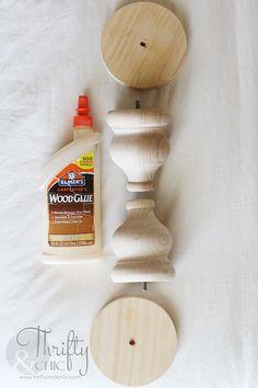44 Easy DIY Farmhouse Candlesticks – Do It Yourself Farmhouse Candles, Farmhouse Decor, Rustic Candle Holders, Diy Candlestick Holders, Diy Rustic Candles, Diy Candle Pedestal, Floor Candle Holders Tall, Diy Rustic Decor, Rustic Wood Crafts