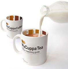 Un café au lait pantone nº…