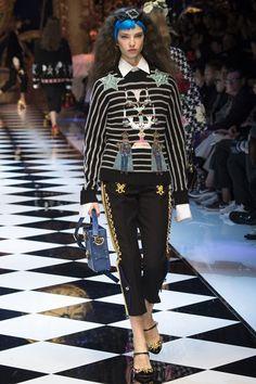 Dolce & Gabbana MFW A/W  16' -17'