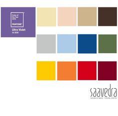 He creado esta paleta de colores combinables con el Color del 2018 según Pantone. Espero les guste!