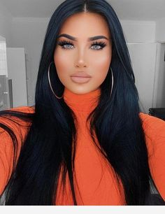 lace front wigs black Natural Color Asian cut Asian bob cut Free S – wigbaba Weave Hairstyles, Straight Hairstyles, Luxy Hair, Black Wig, Long Black, Gorgeous Makeup, Gorgeous Eyes, Hair Looks, Lace Front Wigs