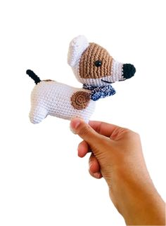 Spotty Dog - Toy - Crochet - Ethical - Handmade - Children - Gift - Dog Lover - Cute - Amigurumi Dog Lover Gifts, Dog Gifts, Dog Lovers, Gifts For Kids, Great Gifts, Spotty Dog, Crochet Penguin, Christmas Bunting, Bunting Garland