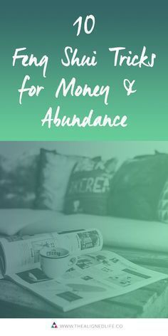 Looking for a money boost? I've got 10 Feng Shui Tricks for money + abundance to give you a jump start over on the blog. #thealignedlife