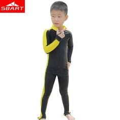 b141a28aca Aliexpress.com   Buy SBART Wetsuits Kids Upf50 Anti UV Lycra Swimwear Kids  Boy Girls Snorkeling Swimming Clothing Surf Diving Wet Suit One Piece H  from ...