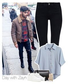 """Day with Zayn"" by heslovely ❤ liked on Polyvore featuring STELLA McCARTNEY, Chicnova Fashion, Proenza Schouler, Loro Piana, Casetify, MAC Cosmetics and Gorjana"