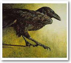 Raven by Jamie Wyeth...my personal favorite at The Brandywine River Museum