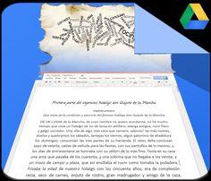 Google nos ofrece la oportunidad de realizar un reconocimiento de caracteres, del texto en una imagen, convirtiéndolo en un archivo de Google Docs.