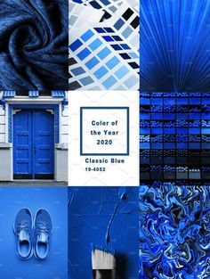 color of the year 2020 pantone ~ color of the year 2020 pantone ; color of the year 2020 pantone fashion ; color of the year 2020 pantone interior ; color of the year 2020 pantone wedding Azul Pantone, Pantone 2020, Pantone Color, Pantone Blue, Colour Schemes, Color Trends, Color Combos, Color Collage, Colour Board