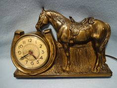 Mastercrafters Electric Horse Clock