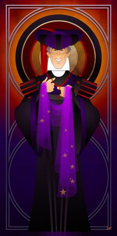 Disney Villains Series Judge Claude Frollo by JonMendez on Etsy