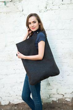 Купить Валяная сумка Брауни - коричневый, сумка ручной работы, сумка на плечо, сумка женская