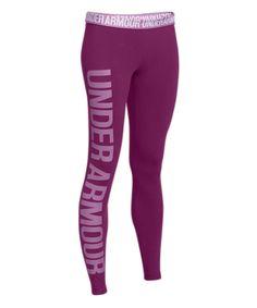Love this Under Armour® Aubergine Favorite Leggings by Under Armour® on #zulily! #zulilyfinds