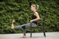 FOTOTRÉNING: 5x účinné cviky na posilnenie kolena a odstránenie bolesti - Fitshaker Outdoor Furniture, Outdoor Decor, Backyard Furniture, Lawn Furniture, Outdoor Furniture Sets