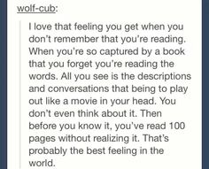 This is me every time I read my favorite series (the school for good and evil first or second one)