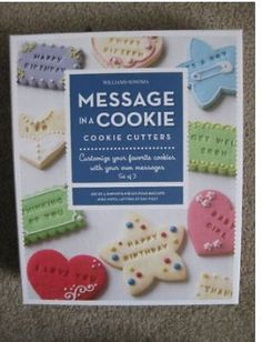 Amazon.com: Williams Sonoma Message in a Cookie Cutter: Kitchen & Dining
