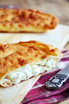 Fried Feta Pockets. Τυρόπιτα Τηγανιού (Recipe in Greek)