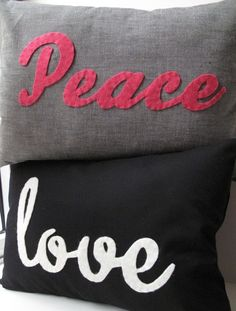 For the chapter room pillows for recruitment and events with our L-words?