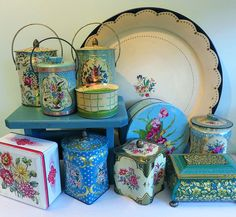 Tag Sale Tins from the T-Cozy