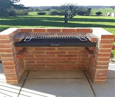 """See our internet site for additional details on """"built in grill diy"""". It is an excellent place to find out more. Pit Bbq, Grill Diy, Parrilla Exterior, Brick Grill, Brick Built Bbq, Outdoor Oven, Outdoor Bbq Grills, Outdoor Cooking, Built In Grill"""