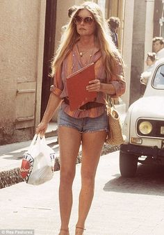 Brigitte Bardot. Not in her prime but still amazing.