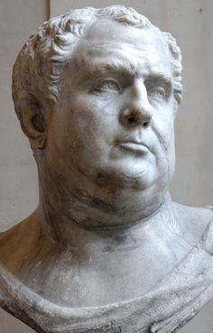 Vitellius - the eighth emperor; Know as the accidental emperor.