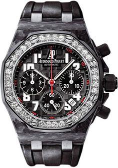 Audemars Piguet Watches - Royal Oak Offshore Lady Chronograph - Carbon - Style No: 26267FS.ZZ.D002CA.02