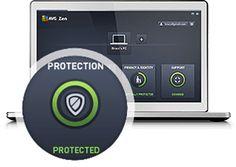 Krok číslo tři při instalaci AVG Protection, Chráněno