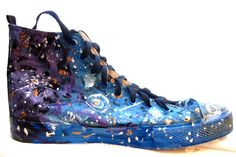 Custom painted galaxy stars sneakers for someone special YOU