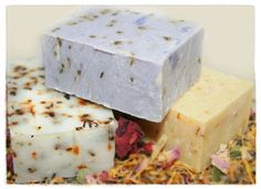 Rebatch soap is a fantastic way to make rustic, artisan soaps by hand without using lye. It gives you the freedom to incorporate whatever additives you'd like because the saponification process has already been completed. Certain ingredients that would otherwise react to the lye in cold process soapmaking, such as dried florals and herbs, can be used without fear that their colour or characteristics might be compromised. Any fragrance or essential oil can be used without potentially speeding…