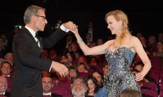 May I have this dance? Nicole Kidman shows off her moves with impromptu salsa at Cannes Film Festival Opening Ceremony Armani Gowns, Kelly Osbourne, Old Actress, Dance Moves, Nicole Kidman, Cannes Film Festival, Opening Ceremony, Strapless Dress Formal, Glamour