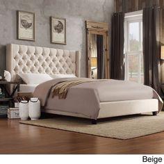 jensen signature j2 continental bed in beige textiles. | jensen