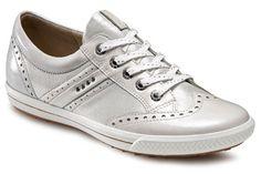 Ecco Golf Street White-Silver Metallic