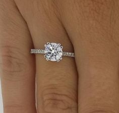 38832 jewelry 1.5 CT SI1/F ROUND CUT DIAMOND SOLITAIRE ENGAGEMENT RING 14K WHITE GOLD  BUY IT NOW ONLY  $1480.0 1.5 CT SI1/F ROUND CUT DIAMOND SOLITAIRE ENGAGEMENT RING 14K WHITE GOLD...