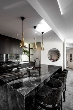 Bravvo is Perth's industry leader specialising in the manufacture and installation of stone and porcelain kitchen benchtops, vanity tops, splashbacks, fireplaces, countertops and more. Stone Bench, Travertine, Malaga, Luxury Real Estate, Granite, Natural Stones, Woodworking, Ceiling Lights, Flooring