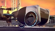 Goodyear introduces its latest concept tire at the 2019 Geneva International Motor Show. The Goodyear AERO concept is a two-in-one tire designed for the auto. Goodyear Tires, Flying Car, Future Car, Futuristic Cars