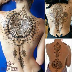 "1,205 Beğenme, 58 Yorum - Instagram'da Sabreena ✨ (@ritualbydesign): ""Back to back to back #sexyback #lookbackatme #favorites #henna #mehndi #hennabodyart…"""